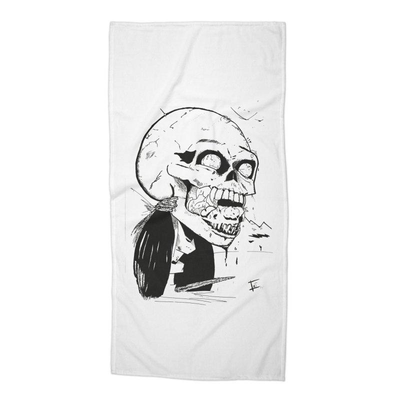 Speak No More Accessories Beach Towel by crowsong's Artist Shop