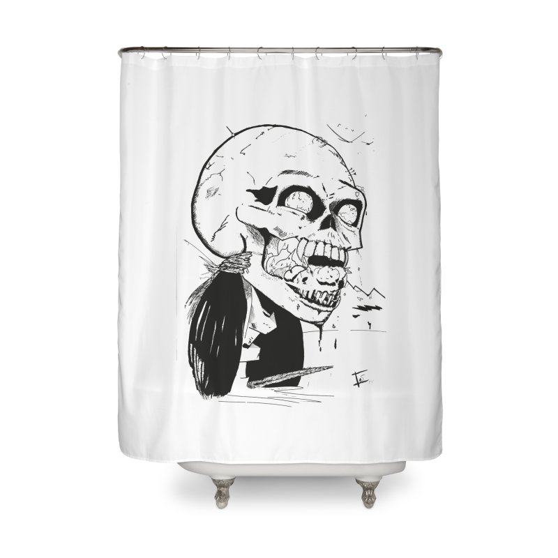 Speak No More Home Shower Curtain by crowsong's Artist Shop