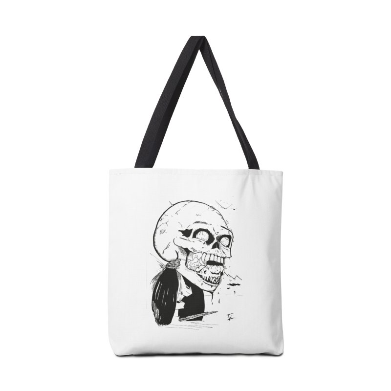 Speak No More Accessories Tote Bag Bag by crowsong's Artist Shop
