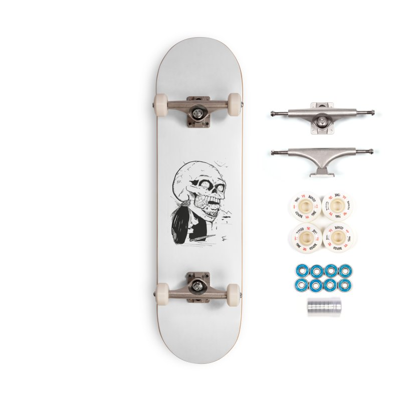 Speak No More Accessories Complete - Premium Skateboard by crowsong's Artist Shop