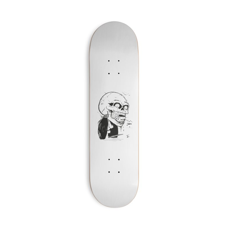 Speak No More Accessories Deck Only Skateboard by crowsong's Artist Shop
