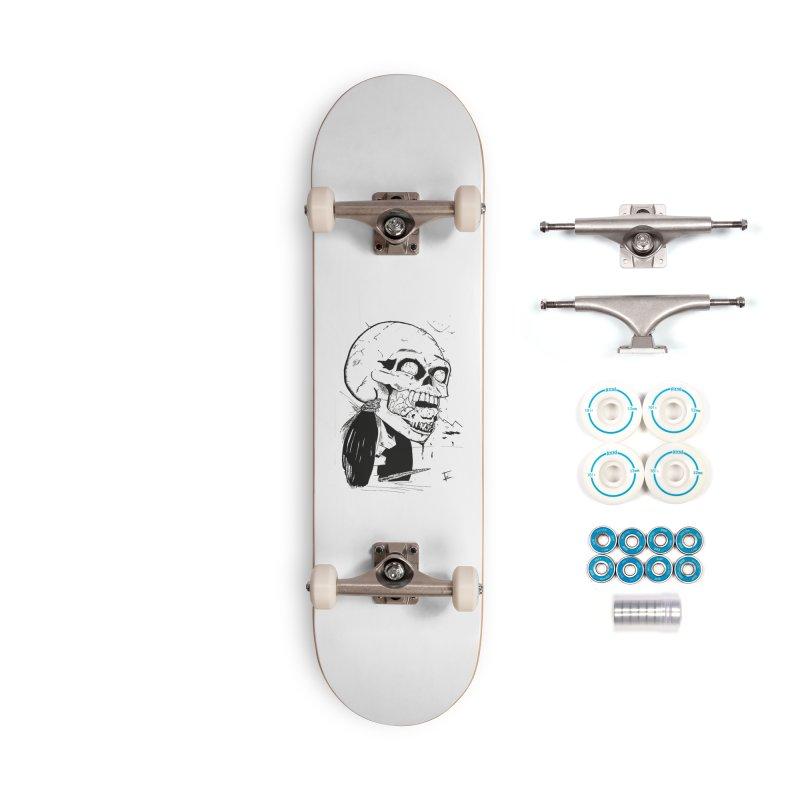 Speak No More Accessories Complete - Basic Skateboard by crowsong's Artist Shop
