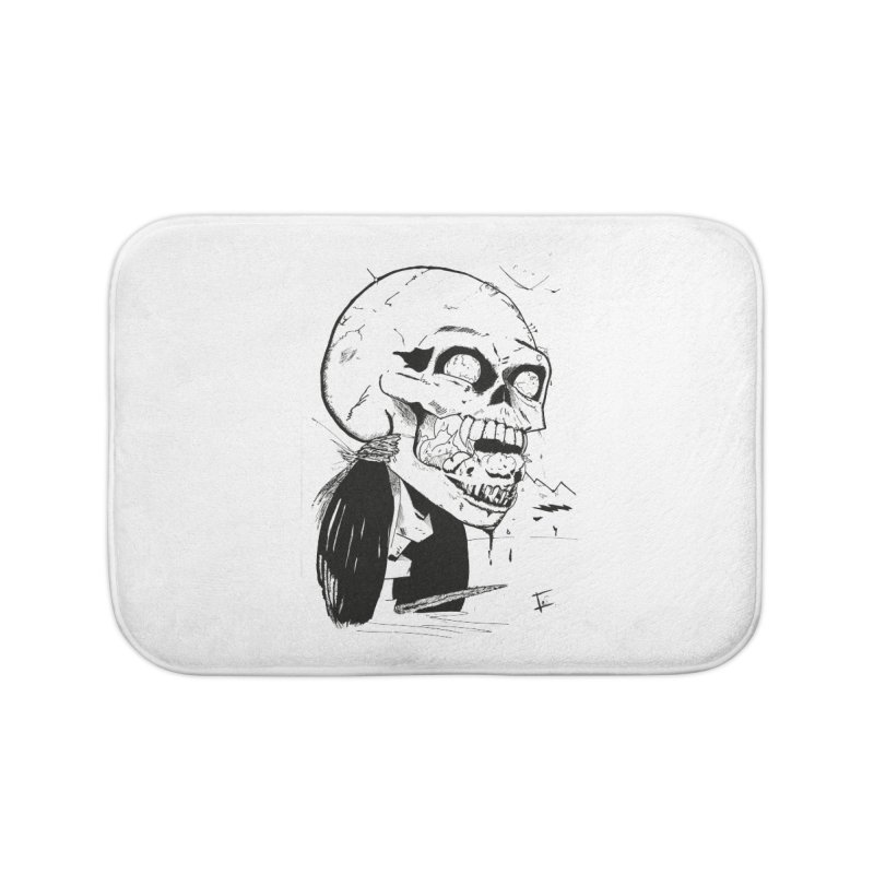 Speak No More Home Bath Mat by crowsong's Artist Shop