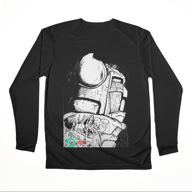 The Killer of Mountains Women's Performance Unisex Longsleeve T-Shirt by crowsong's Artist Shop