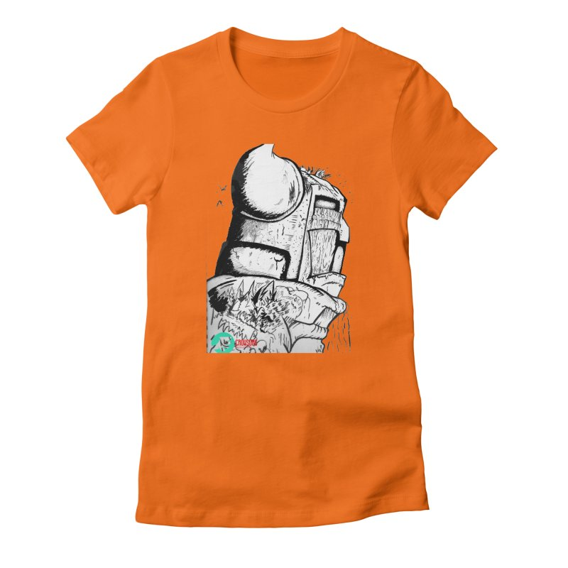 The Killer of Mountains Women's Fitted T-Shirt by crowsong's Artist Shop
