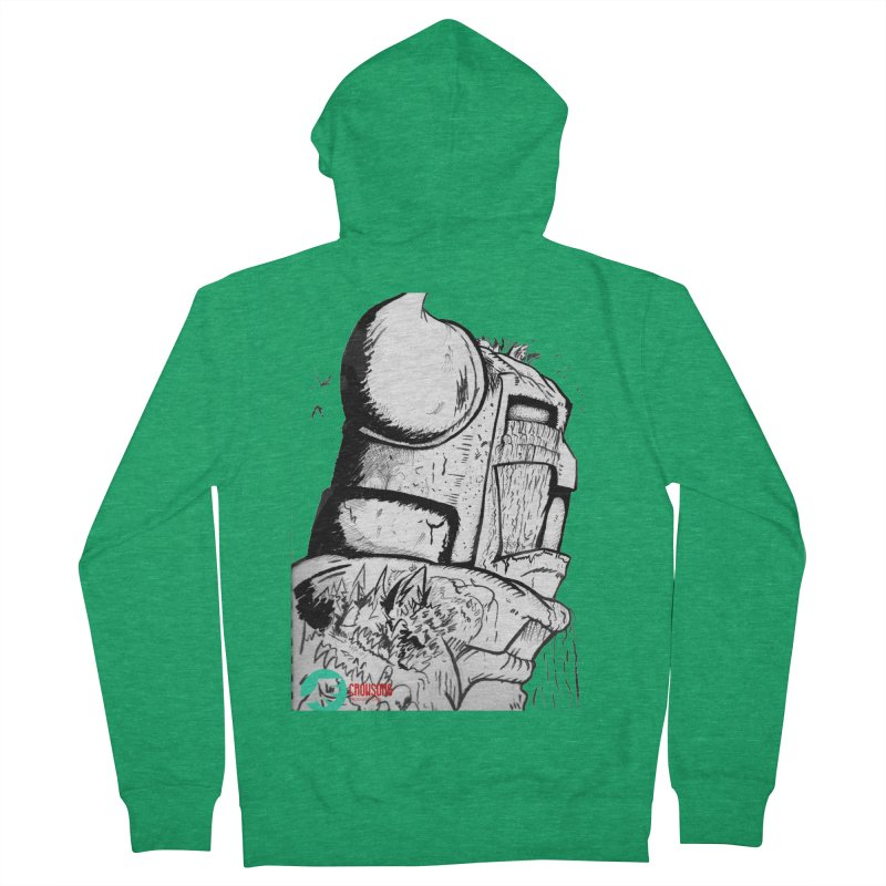 The Killer of Mountains Women's French Terry Zip-Up Hoody by crowsong's Artist Shop