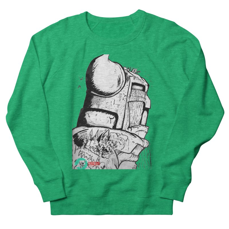 The Killer of Mountains Women's French Terry Sweatshirt by crowsong's Artist Shop