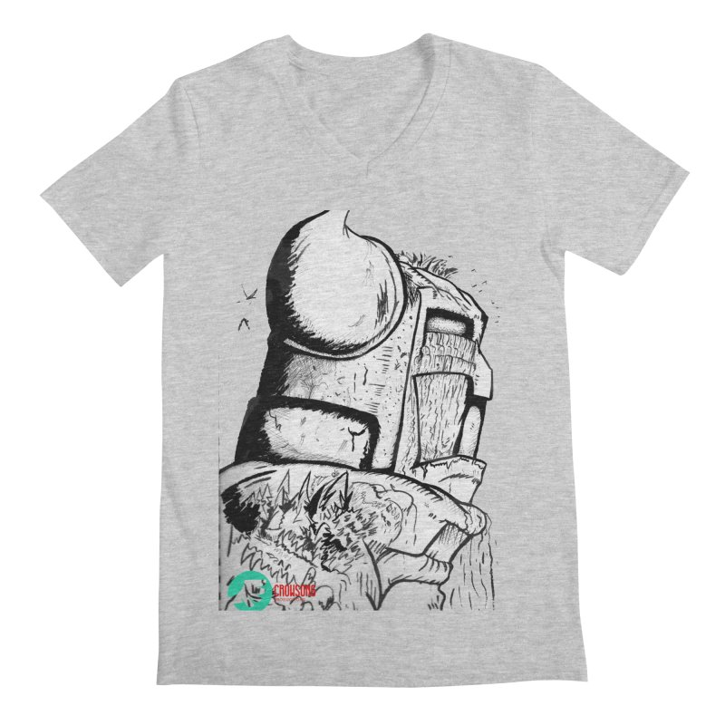 The Killer of Mountains Men's V-Neck by crowsong's Artist Shop