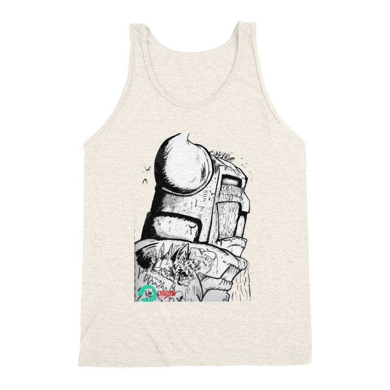 The Killer of Mountains Men's Triblend Tank by crowsong's Artist Shop