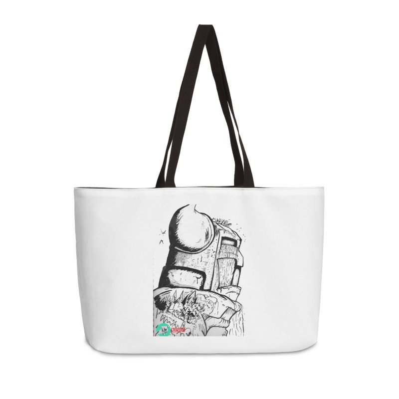 The Killer of Mountains Accessories Weekender Bag Bag by crowsong's Artist Shop