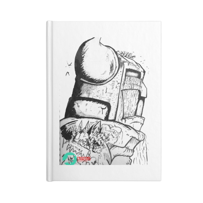The Killer of Mountains Accessories Lined Journal Notebook by crowsong's Artist Shop