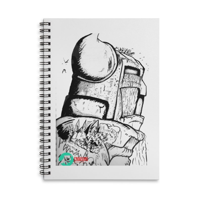 The Killer of Mountains Accessories Lined Spiral Notebook by crowsong's Artist Shop