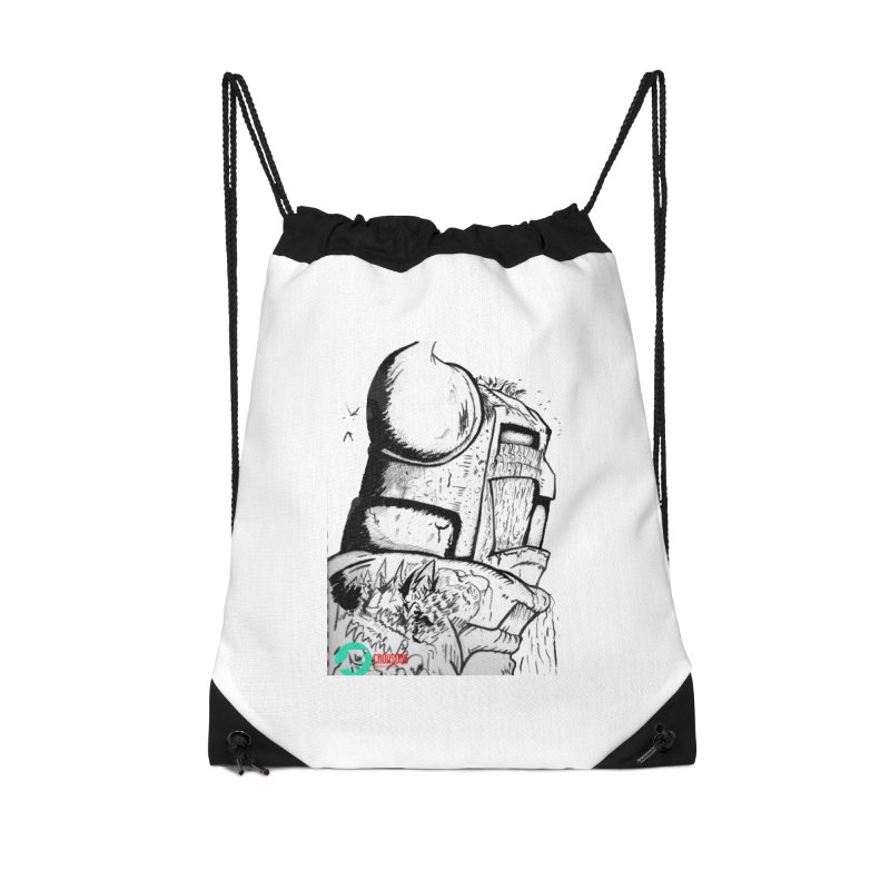 The Killer of Mountains Accessories Drawstring Bag Bag by crowsong's Artist Shop
