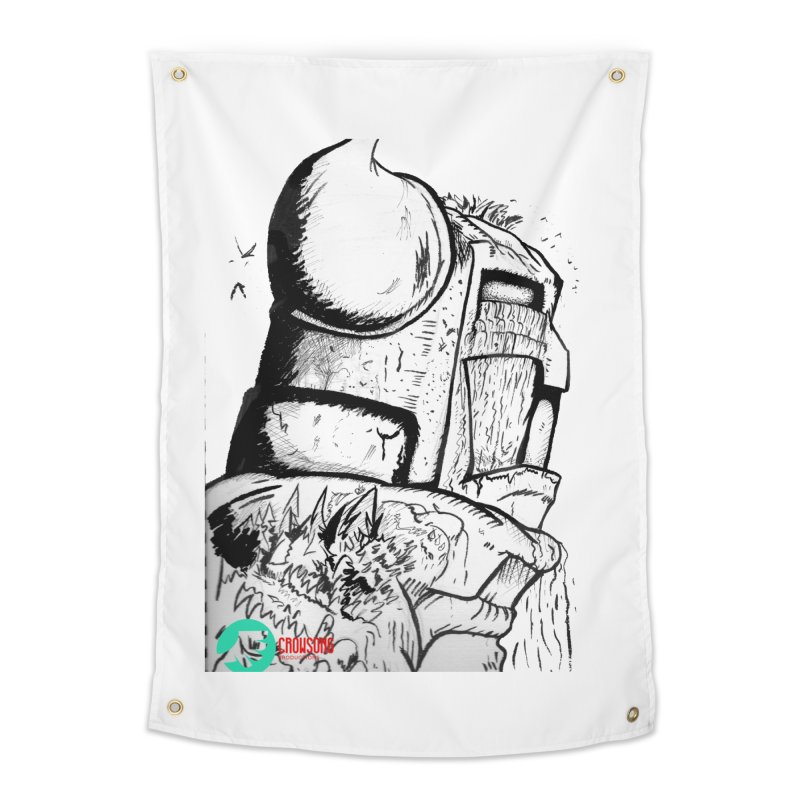 The Killer of Mountains Home Tapestry by crowsong's Artist Shop
