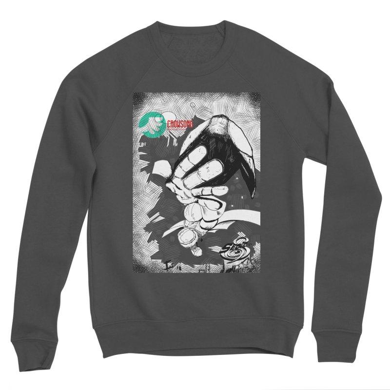 NDnaut Men's Sponge Fleece Sweatshirt by crowsong's Artist Shop