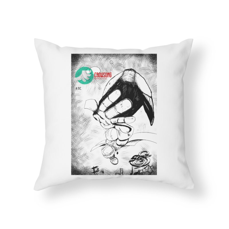 NDnaut Home Throw Pillow by crowsong's Artist Shop