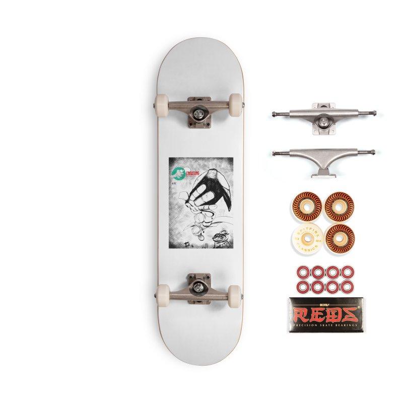 NDnaut Accessories Skateboard by crowsong's Artist Shop
