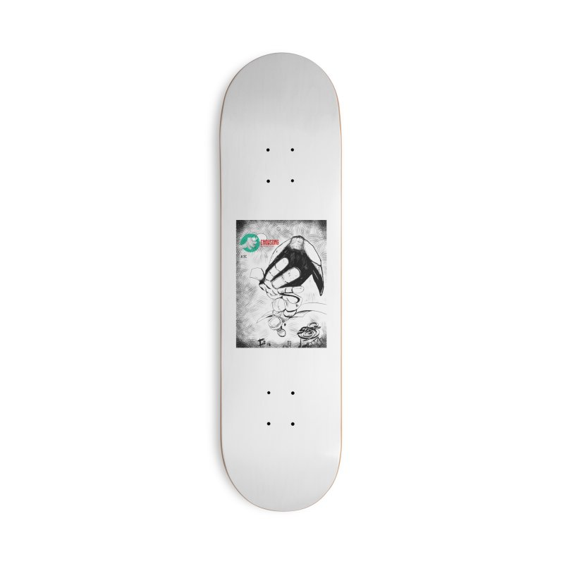 NDnaut Accessories Deck Only Skateboard by crowsong's Artist Shop