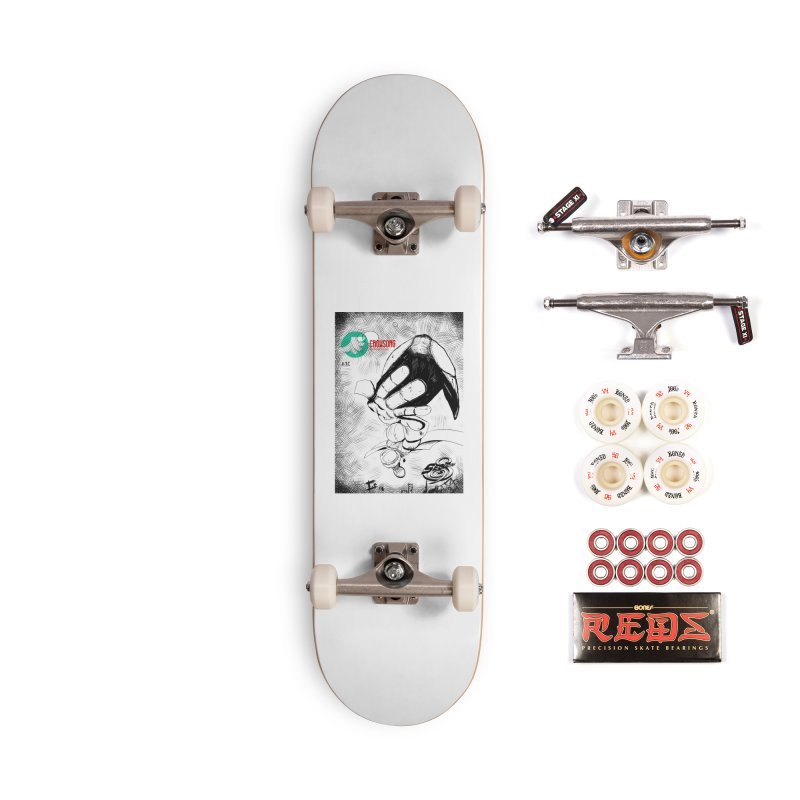 NDnaut Accessories Complete - Pro Skateboard by crowsong's Artist Shop
