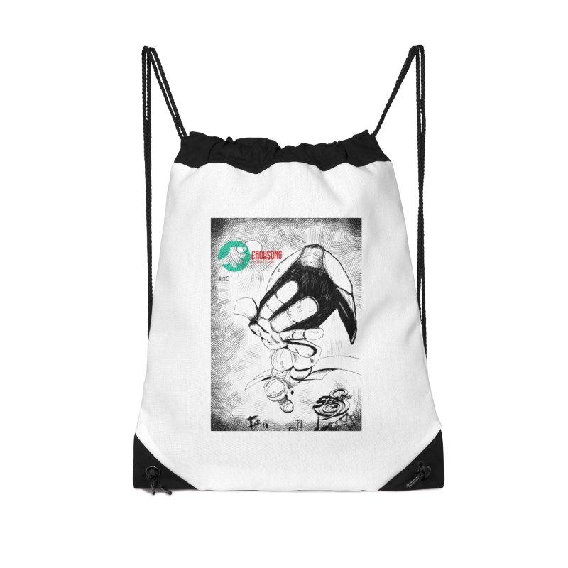NDnaut Accessories Drawstring Bag Bag by crowsong's Artist Shop