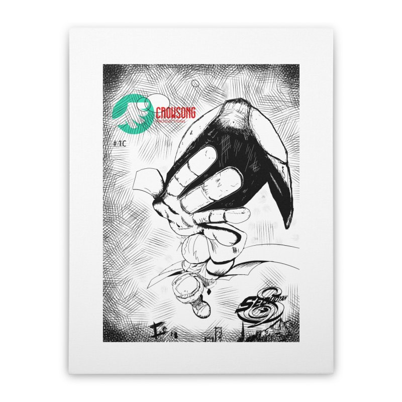NDnaut Home Stretched Canvas by crowsong's Artist Shop