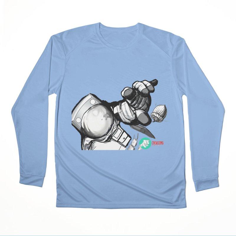 Space-corn Men's Longsleeve T-Shirt by crowsong's Artist Shop