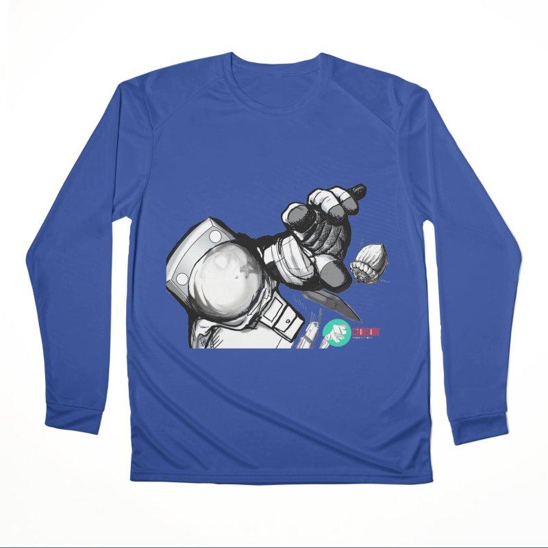 Space-corn Women's Performance Unisex Longsleeve T-Shirt by crowsong's Artist Shop