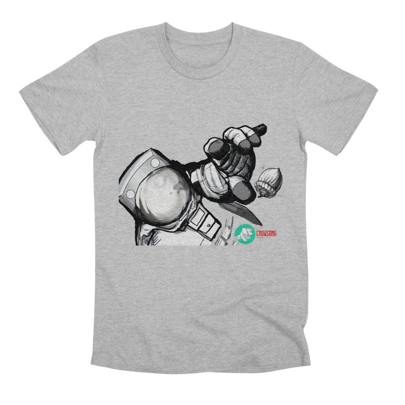 Space-corn Men's Premium T-Shirt by crowsong's Artist Shop