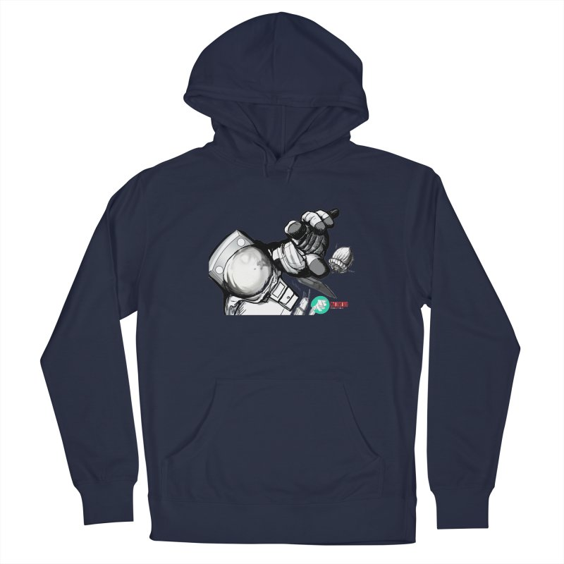 Space-corn Men's Pullover Hoody by crowsong's Artist Shop