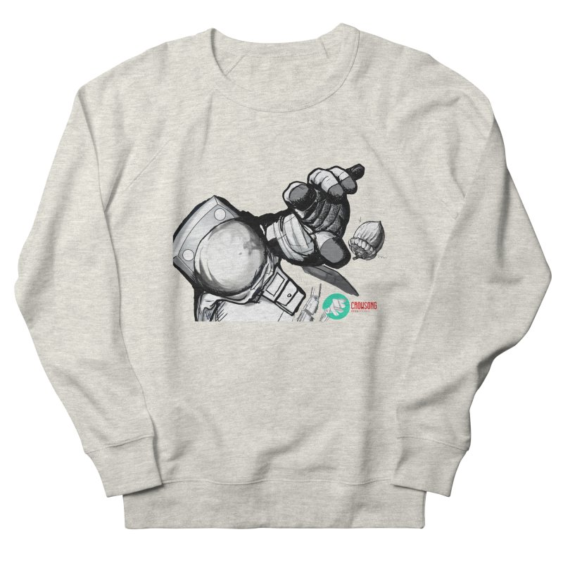 Space-corn Women's French Terry Sweatshirt by crowsong's Artist Shop