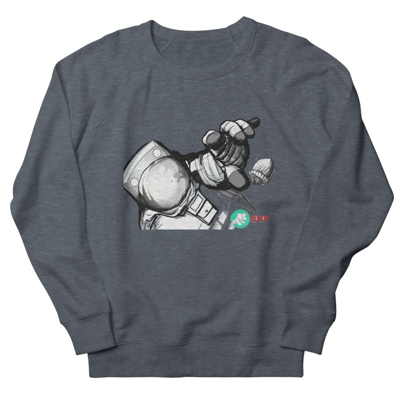 Space-corn Men's French Terry Sweatshirt by crowsong's Artist Shop