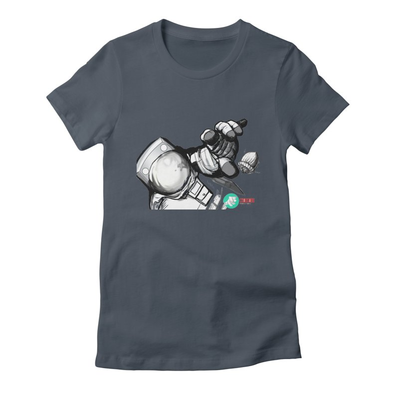 Space-corn Women's T-Shirt by crowsong's Artist Shop