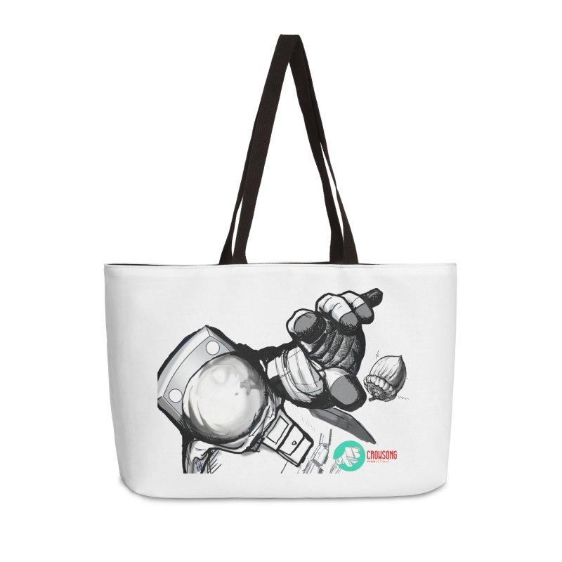 Space-corn Accessories Weekender Bag Bag by crowsong's Artist Shop