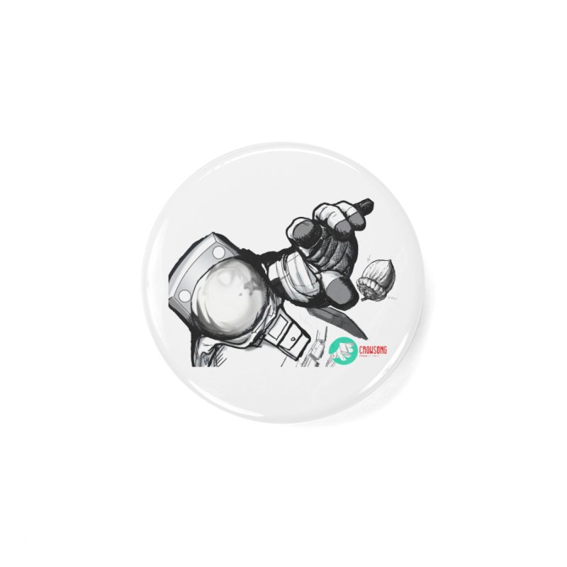 Space-corn Accessories Button by crowsong's Artist Shop