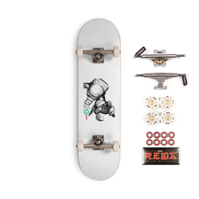 Space-corn Accessories Complete - Pro Skateboard by crowsong's Artist Shop