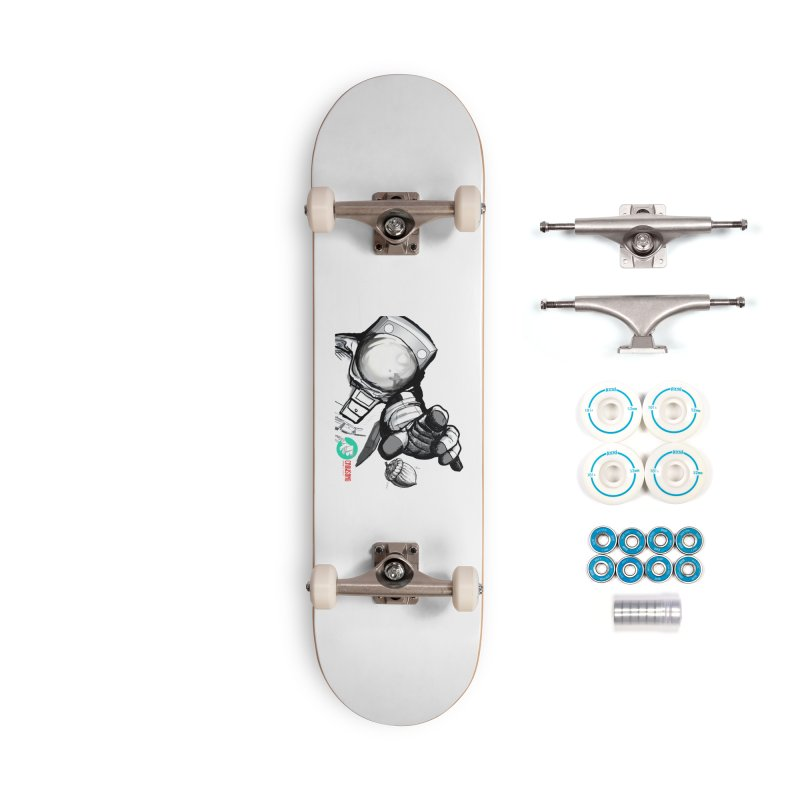 Space-corn Accessories Complete - Basic Skateboard by crowsong's Artist Shop