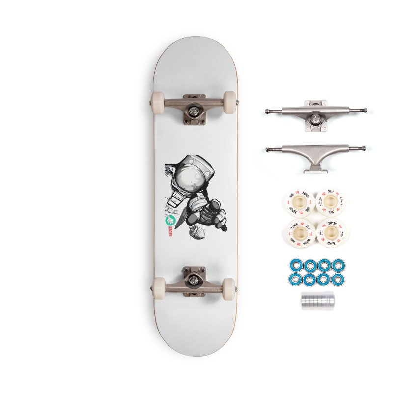 Space-corn Accessories Complete - Premium Skateboard by crowsong's Artist Shop