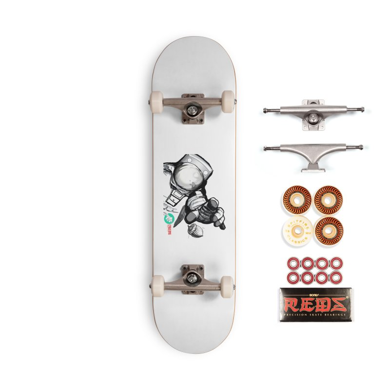 Space-corn Accessories Skateboard by crowsong's Artist Shop