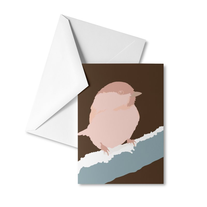 Little Birdie Accessories Greeting Card by C.R. Shah Art