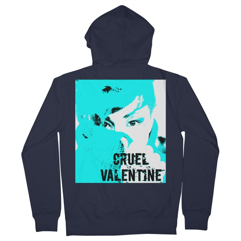 "Cruel Valentine ""Forget Me Not"" Women's Zip-Up Hoody by Cruel Valentine"