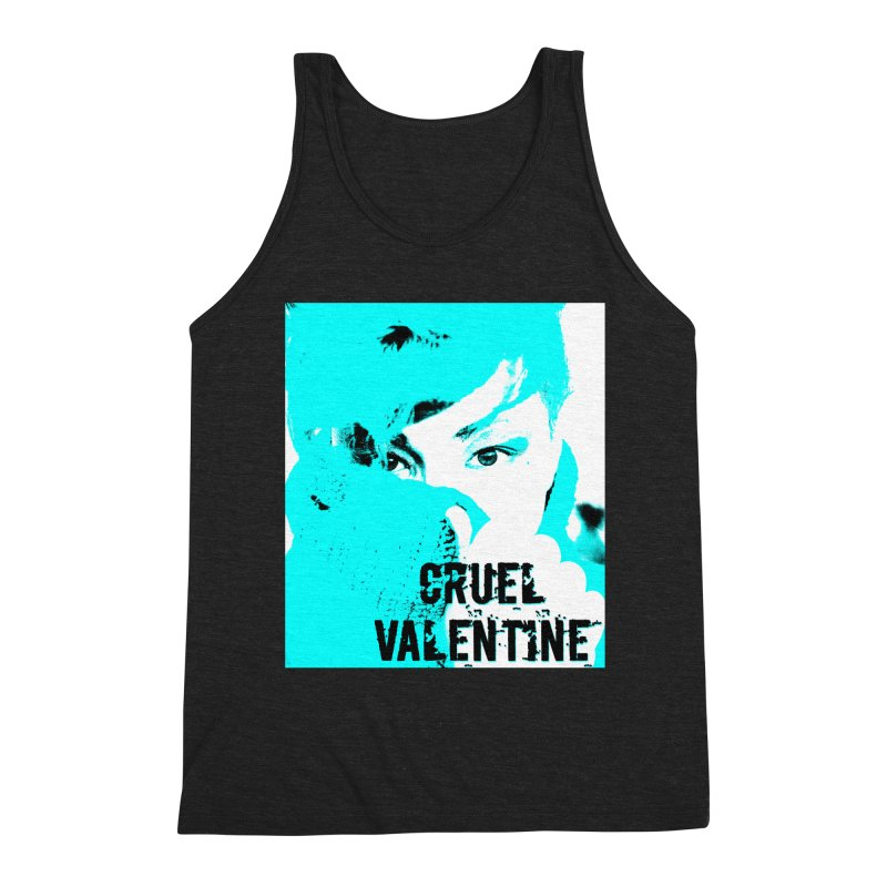 "Cruel Valentine ""Forget Me Not"" Men's Tank by Cruel Valentine"