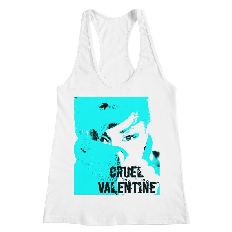 "Cruel Valentine ""Forget Me Not"" Women's Racerback Tank by Cruel Valentine"