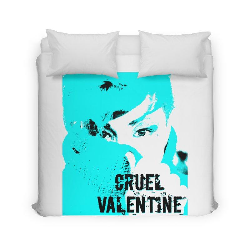 """Cruel Valentine """"Forget Me Not"""" Home Duvet by Cruel Valentine"""