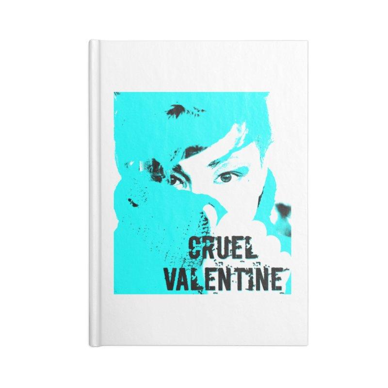 """Cruel Valentine """"Forget Me Not"""" Accessories Blank Journal Notebook by Cruel Valentine"""