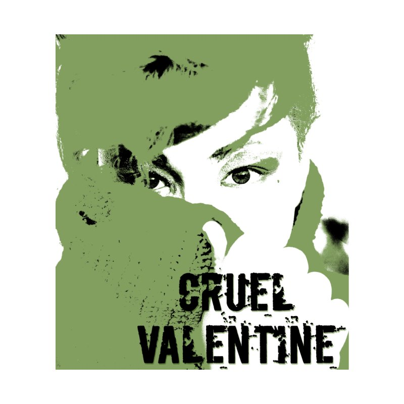 "Cruel Valentine ""Forget Me Not"" in Green Women's Tank by Cruel Valentine"