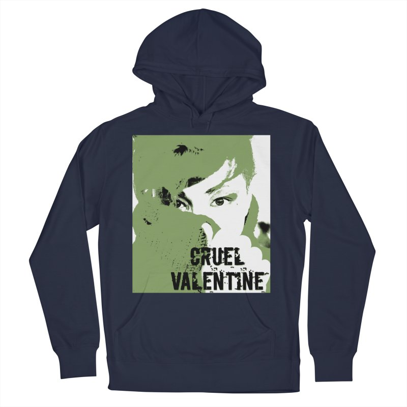 "Cruel Valentine ""Forget Me Not"" in Green Men's Pullover Hoody by Cruel Valentine"