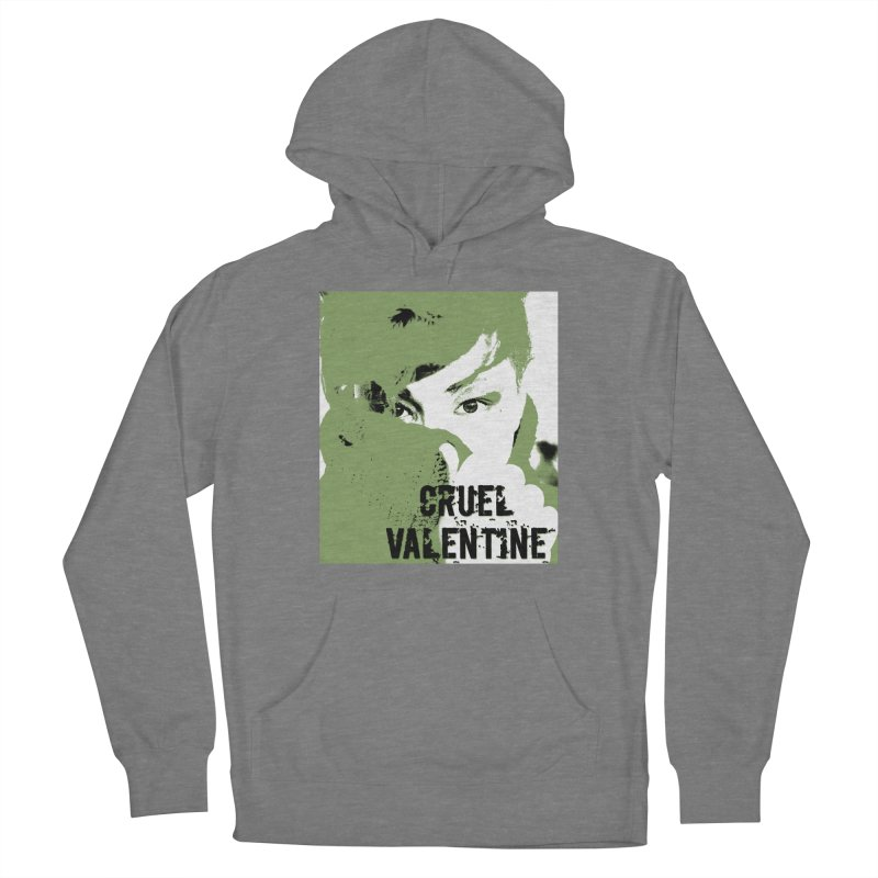 "Cruel Valentine ""Forget Me Not"" in Green Women's Pullover Hoody by Cruel Valentine"