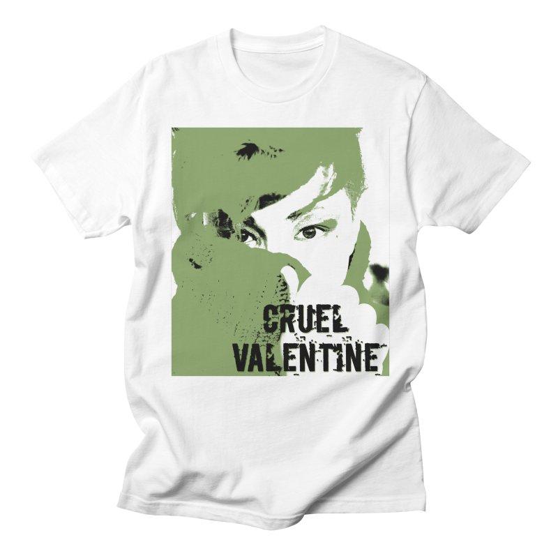 """Cruel Valentine """"Forget Me Not"""" in Green Men's Regular T-Shirt by Cruel Valentine"""