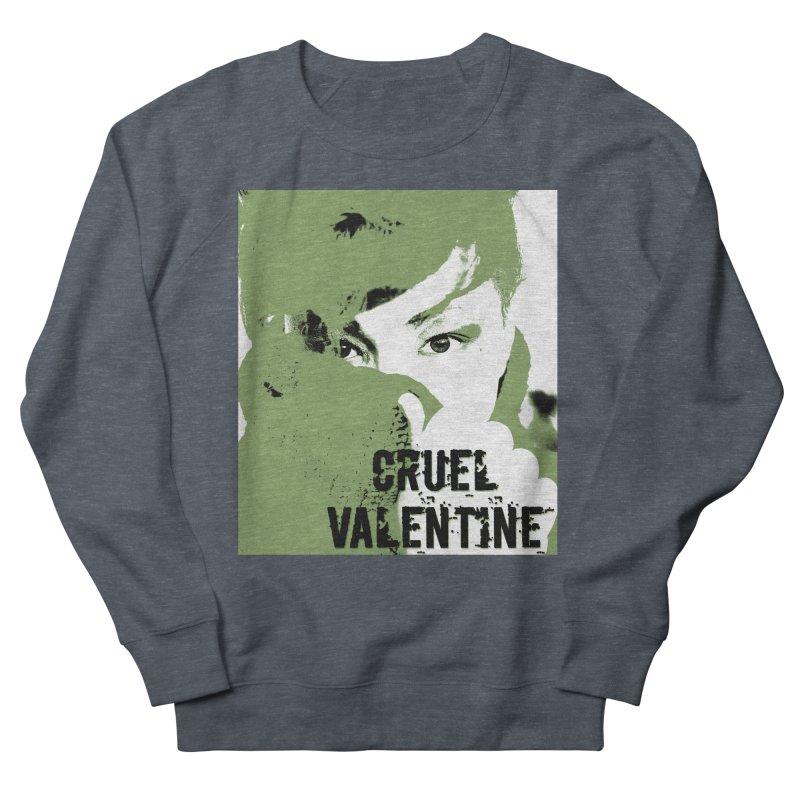 "Cruel Valentine ""Forget Me Not"" in Green Women's French Terry Sweatshirt by Cruel Valentine"