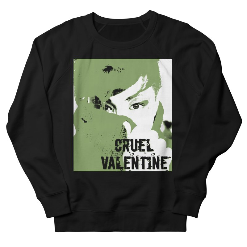 "Cruel Valentine ""Forget Me Not"" in Green Women's French Terry Sweatshirt by Cruel Valentine"
